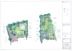 Planting plans and design
